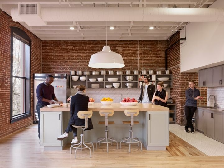 Best Office Kitchen Images On Pinterest Office Designs