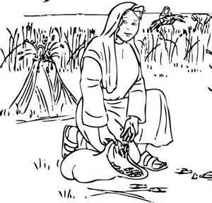 ruth coloring pages