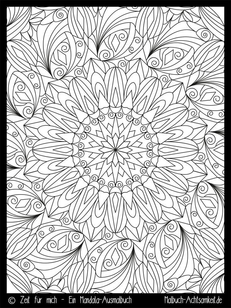 43 best Mandalas images on Pinterest | Mandalas, Zeit für mich und ...