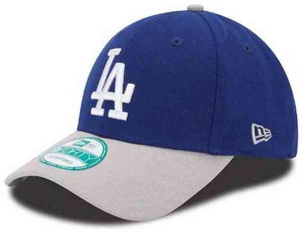New Era MLB League 2 Tone 9Forty Los Angeles Dodgers Team Men's Hat, 10963127