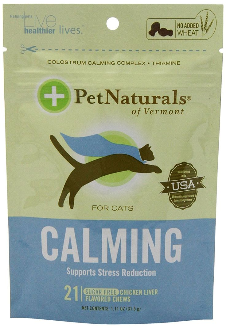 Pet Naturals Calming for Cats * Click image to review more details.