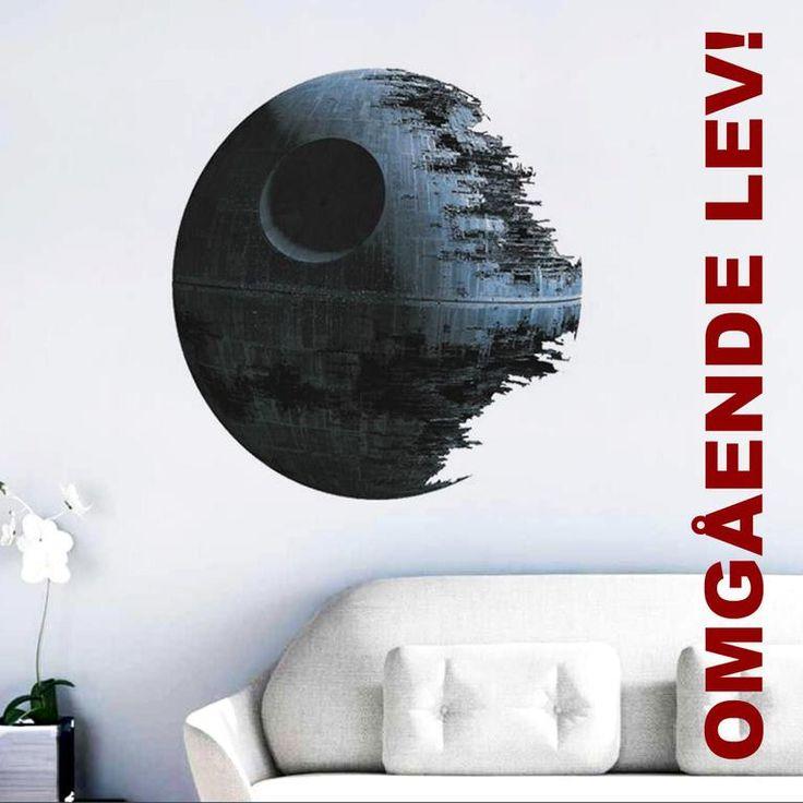 Annons på Tradera: Väggdekor STARWARS - Death Star