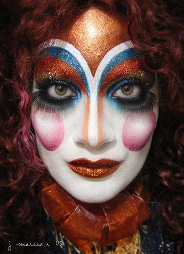 146 best cirque du soleil images on pinterest artistic make up make up looks and circus makeup. Black Bedroom Furniture Sets. Home Design Ideas