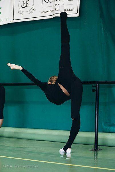 Rhythmic gymnastics, summer trainings