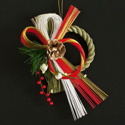 竹治郎〈たけじろう〉正月飾り注連飾り雪月風花松輝