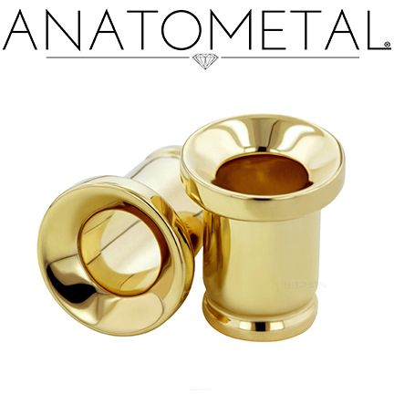2ga Standard Eyelets in solid 18k yellow gold