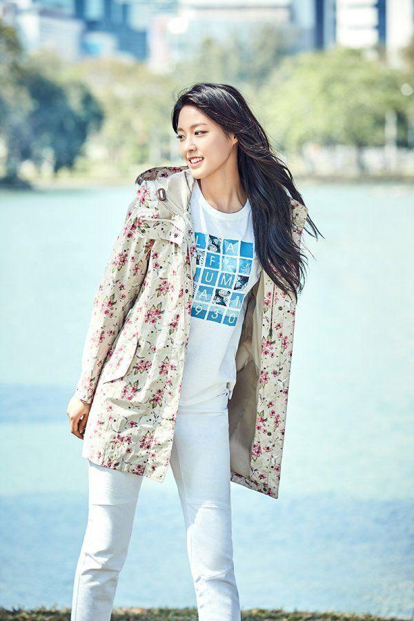 Seolhyun and Cha Eun Woo pair up for 'Lafuma' | allkpop.com