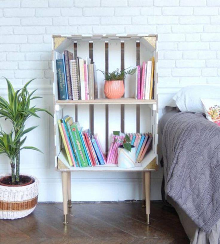 Vous recherchez une décoration d'intérieur plutôt originale, voire décalée ? N'allez pas plus loin, cet article est fait pour vous ! Avec de vieilles cagettes en bois, vous pouvez transformer votre intérieur en y apportant une petite touche récup'. C'est en plus une solution design qui ne touche pas à votre porte-feuille alors profitez-en et découvrez 20...
