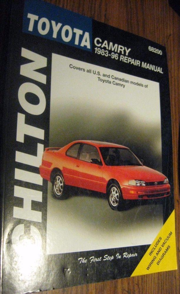 68200  Chilton Repair Manual Toyota Camry 1983-96