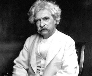 """""""Be careful about reading health books. You may die of a misprint."""" -  Mark Twain"""