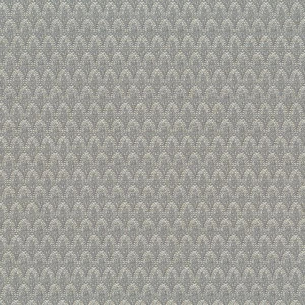 Remnant of Culp Loose Change Gray Upholstery Fabric (With