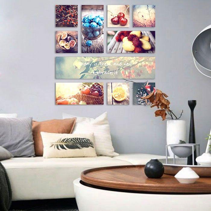 17 beste afbeeldingen over fotocollage woonkamer op Pinterest ...