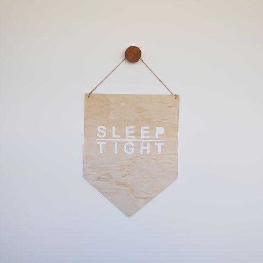 Made By Mee + Co | Sleep Tight Ply Banner