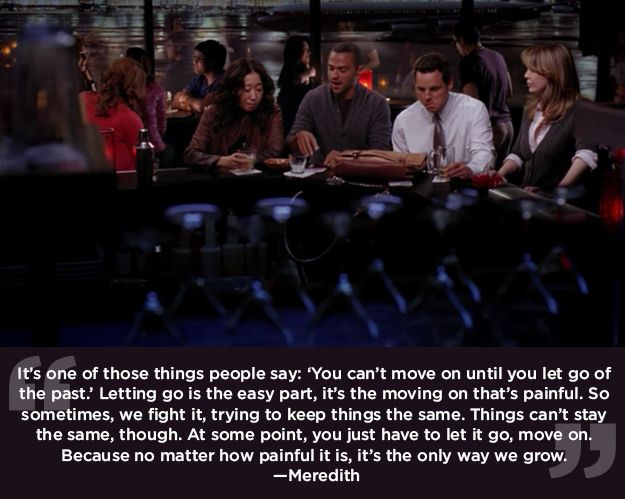"""Change is a necessary evil. 