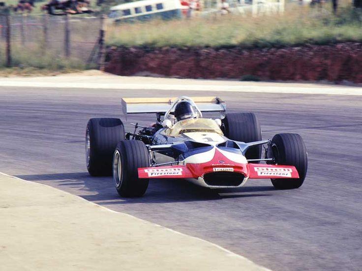 Dave Charlton (Lotus 49C - Ford) Scuderia Scribante