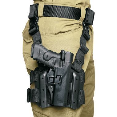 May be the perfect item for a G.O.O.D. bag but I want it just cause I'd look so flippin cool. (AKA Badass)   Blackhawk!® Level 2 Tactical SERPA™ Holster