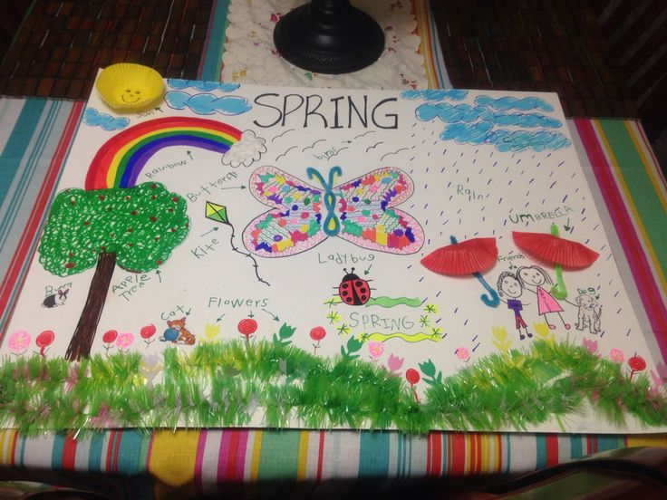 9 best my projects images on pinterest blue prints projects and diy spring project pre k spring poster solutioingenieria Images