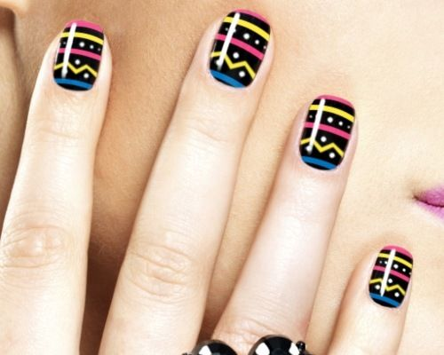 How to do tribal nail art crazy nails easter nails and nail nail prinsesfo Image collections