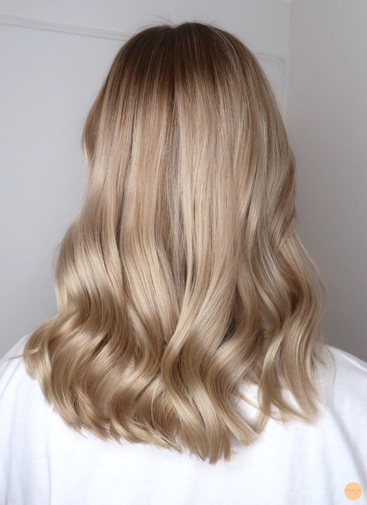 Beige Blonde Hair Color Peach Stockholm Beige Blonde Color