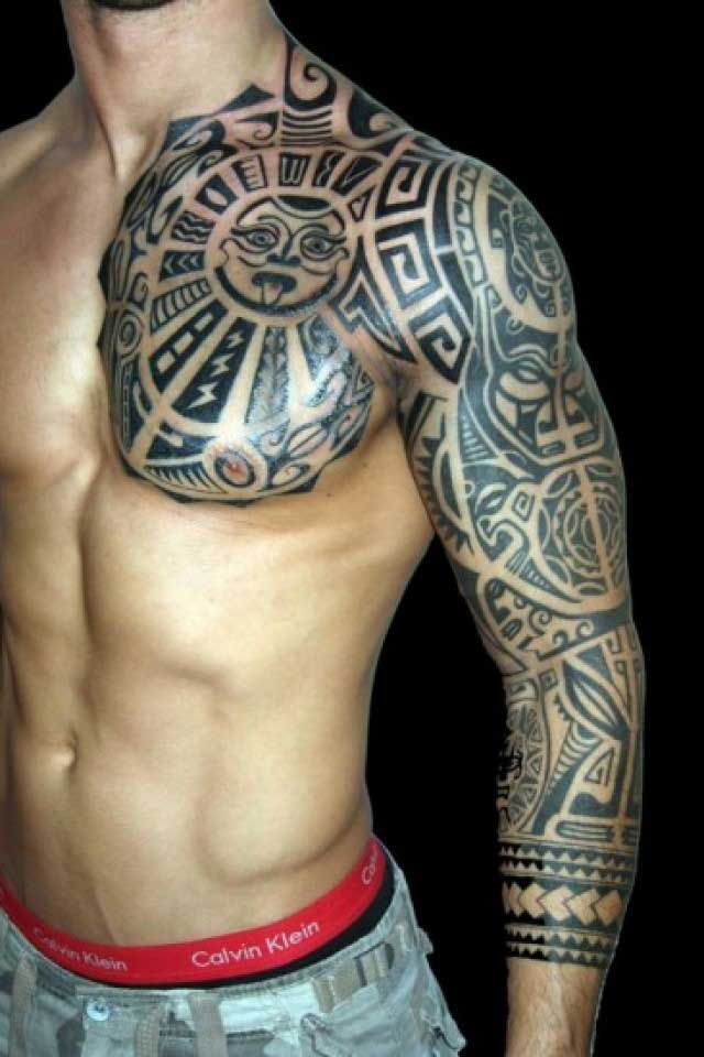 Half Tattoo Ideas for Men With Meaningful Tattoos