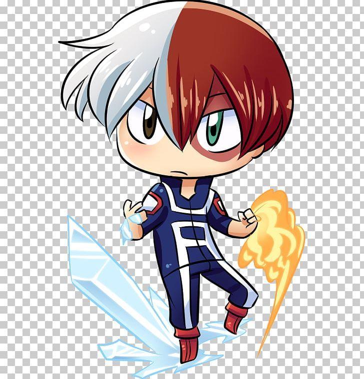Shouto Todoroki Chibi My Hero Academia Drawing Manga Png All Might Anime Art Artwork Boy My Hero Chibi My Hero Academia