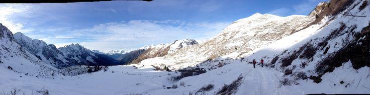 La prima neve dell'inverno 2014