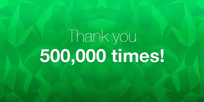 We reached 500,000 downloads in less than a year! And what a year it's been. Read more on our blog and give the app a go if you haven't already. New to Glogster? Download it here: https://itunes.apple.com/sl/app/glogster/id907433564?mt=8