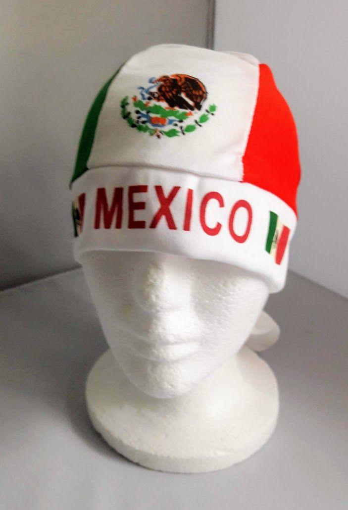 7d448d6cfa4cc1 Details about Mexico Durag Doo Rag Tie Back Scarf Biker Head Wrap ...