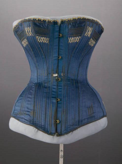 2a35addf0f Wedding corset  1884