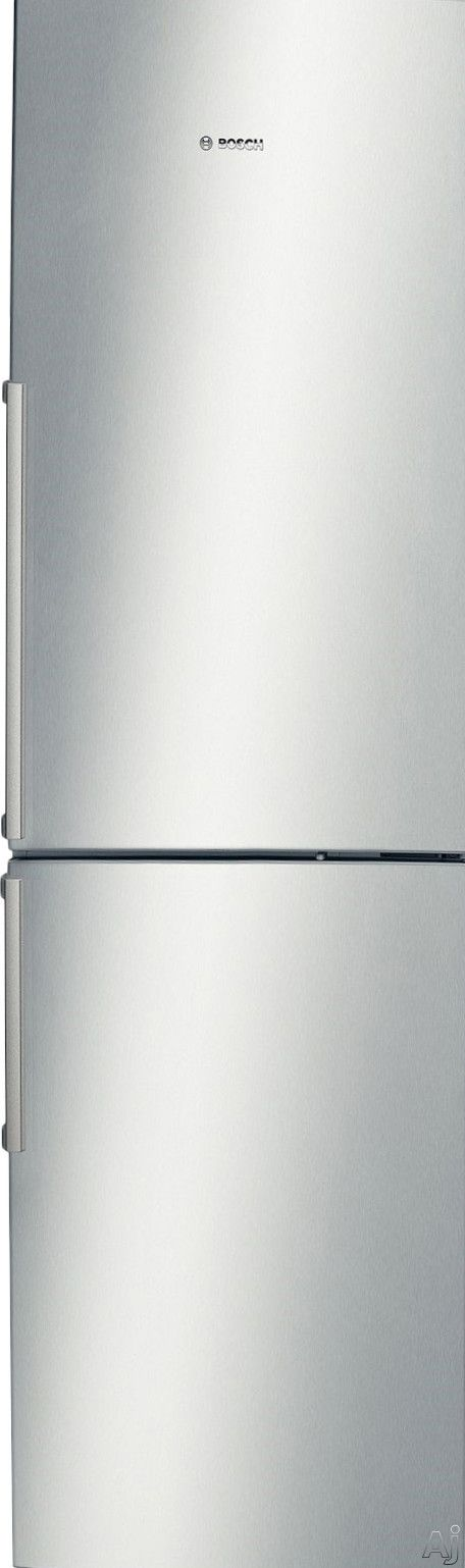 Bosch B11CB50SSS 11.0 cu. ft. Counter-Depth Bottom-Freezer Refrigerator with Spill-Proof Glass Shelves, Humidity-Controlled Drawer, Door Open Alarm, LED Lighting and Wine Rack