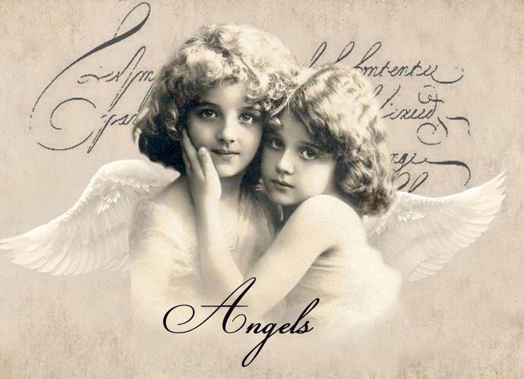 традиционной винтажные картинки для декупажа черно белые ангелы швы сдвигаются