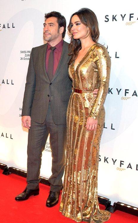 Marlohe at Skyfall Premiere