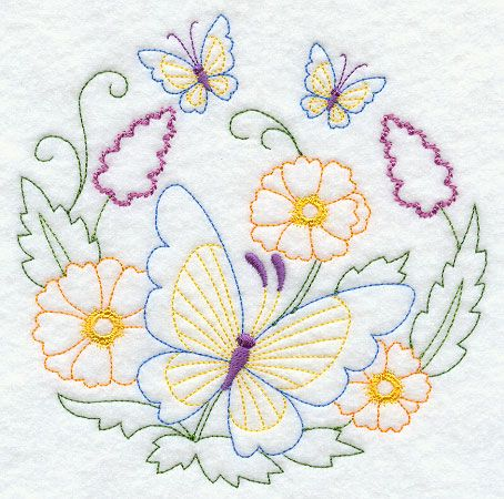 Machine Embroidery Designs at Embroidery Library! - Color Change - G9622