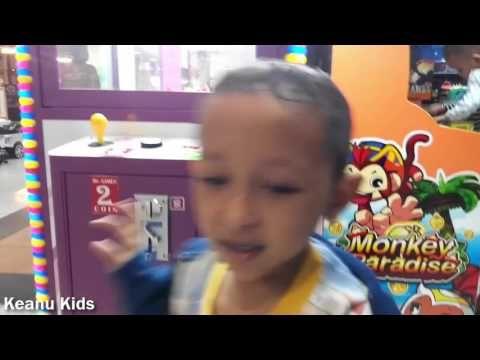 Asyiknya bermain Game Master Arcade Timezone Playground Indoor Keanu Kids