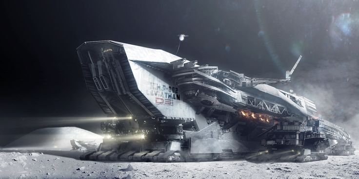 Moon Mining: Harvester