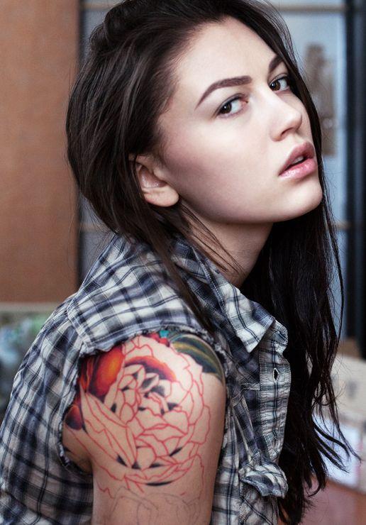 red ink: Human Beautiful, Female Beautiful, Sasha Larina, Pink Hair, Moscow Bas Photographers, Larina Photography, Beautiful Photography, Girls Pictures, Red Ink