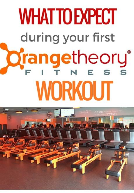 What to expect during your first Orange Theory Fitness Workout