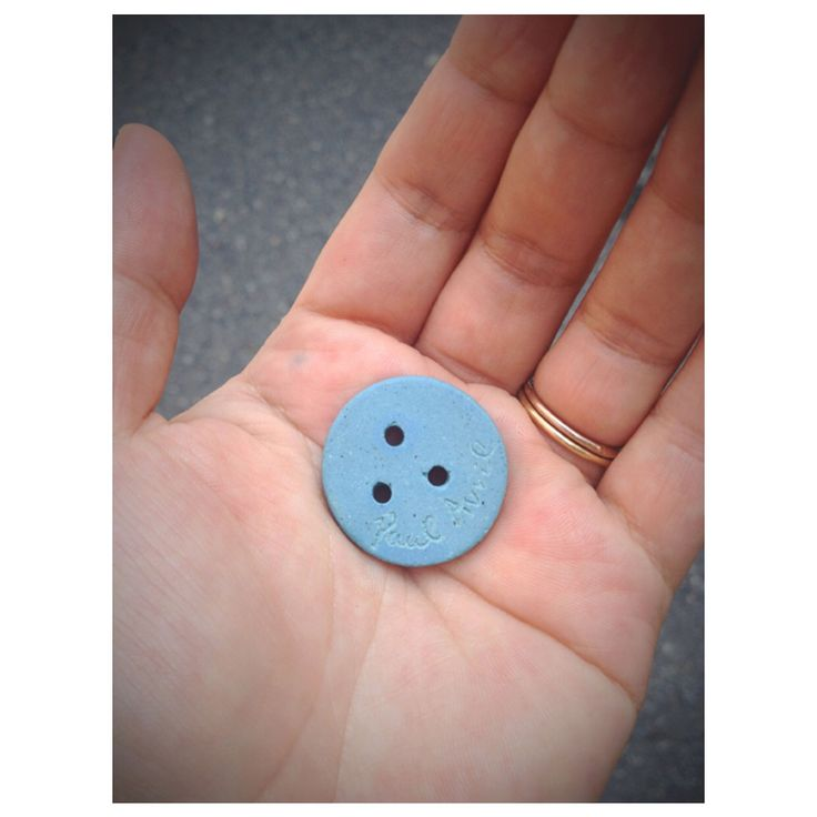 3 Holes Buttons Ceramic Button atelier shop PAUL AVRIL 폴 아브릴 세 구멍 단추