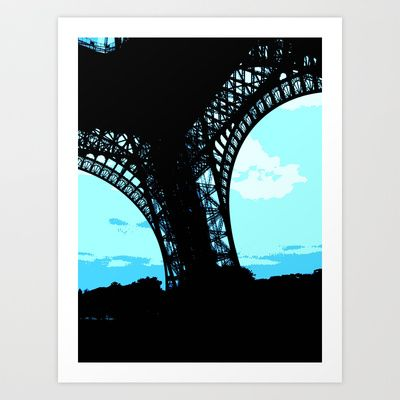 La Tour Art Print by Jaana - $17.00