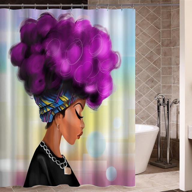 Art Design Graffiti Art Hip Hop African Black Women With Natural