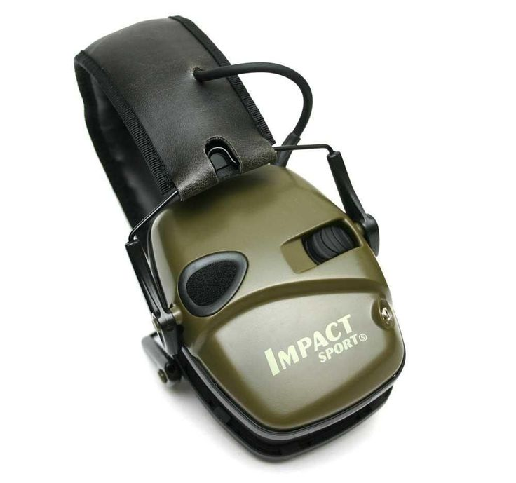 Ear Protection 2PACK - Howard Leight Impact Sport Electronic Earmuff Hunt Shoot  #HowardLeight
