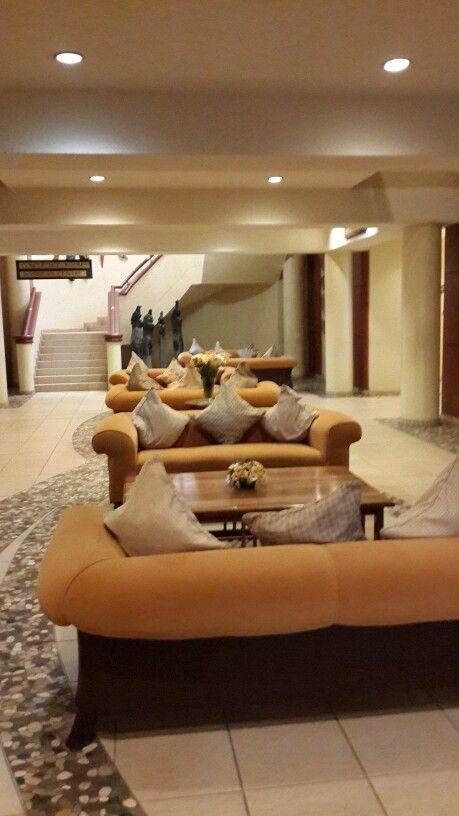 Elephant Hills Resort waiting erea