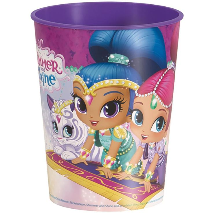 Shimmer and Shine 16oz Plastic Party Cup