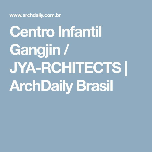 Centro Infantil Gangjin / JYA-RCHITECTS   ArchDaily Brasil