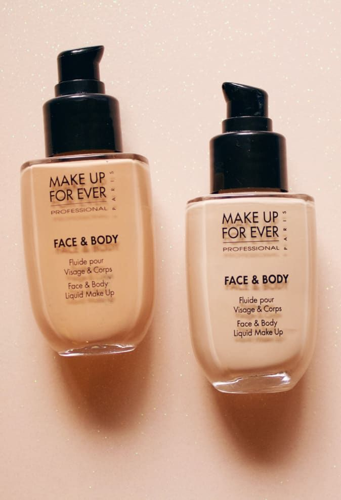 Editor S Pick Make Up For Ever S Water Based Face Body Foundation For Light Buildable Coverage Water Based Foundation Body Foundation Face And Body