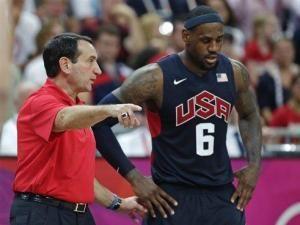 Duke head basketball coach Mike Krzyzewski said his seven years with Team USA has helped him and Duke grow.