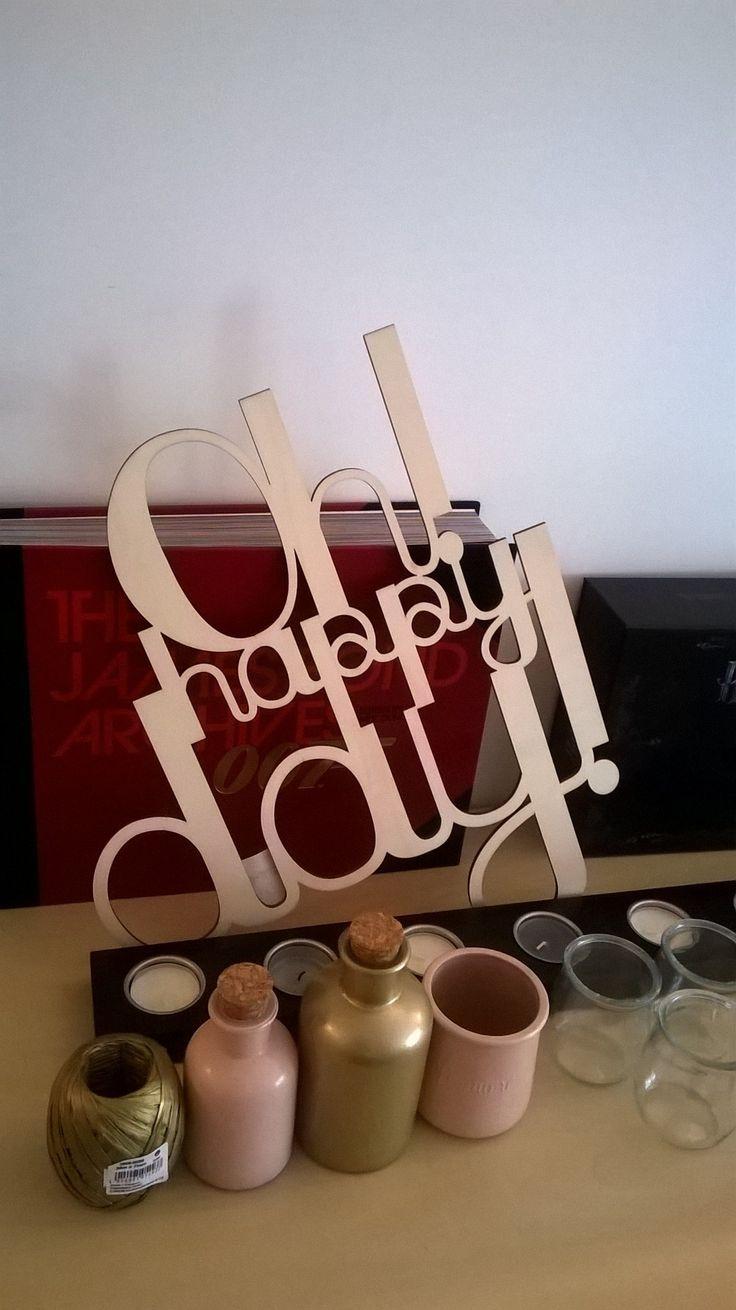 Loisirs et Création Oh Happy Day Vin d'honneur