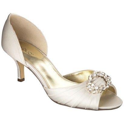 Women's Tevolio® Tambra Satin D'Orsay Pump - Assorted Colors - Bridesmaids