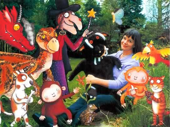 Julia Donaldson Author Page...March Author for Virtual Book Club