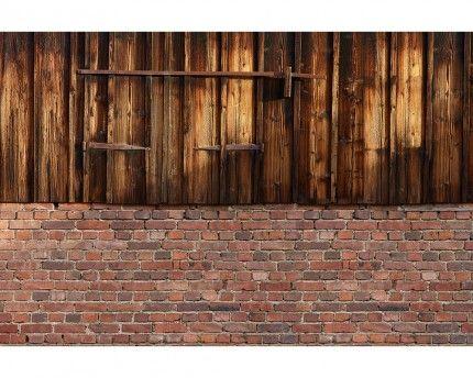 Vieux mur de grange - Papier peint XXL Digital Architects Paper #trompeloeil #wallpaper #deco http://www.papierspeintsdirect.com/posters.html